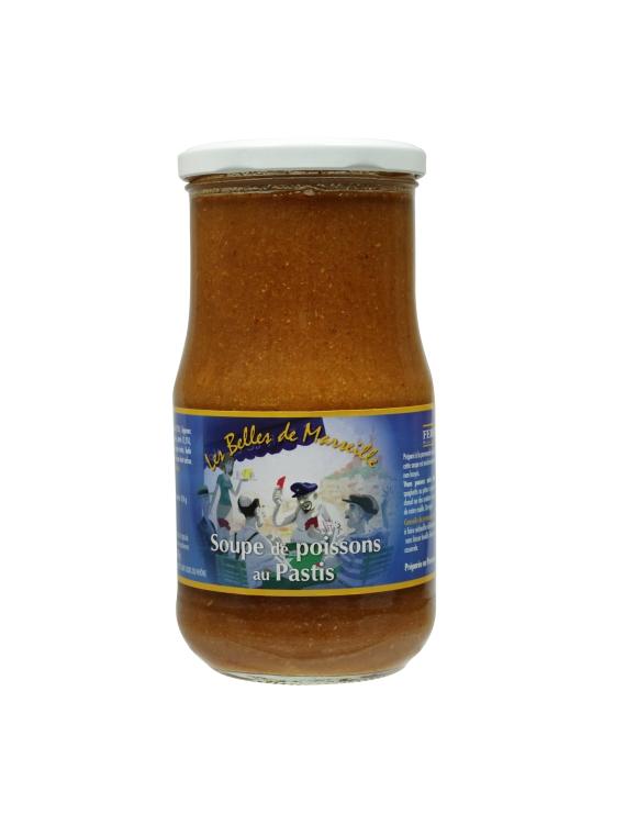Soupe de Poisson au Pastis