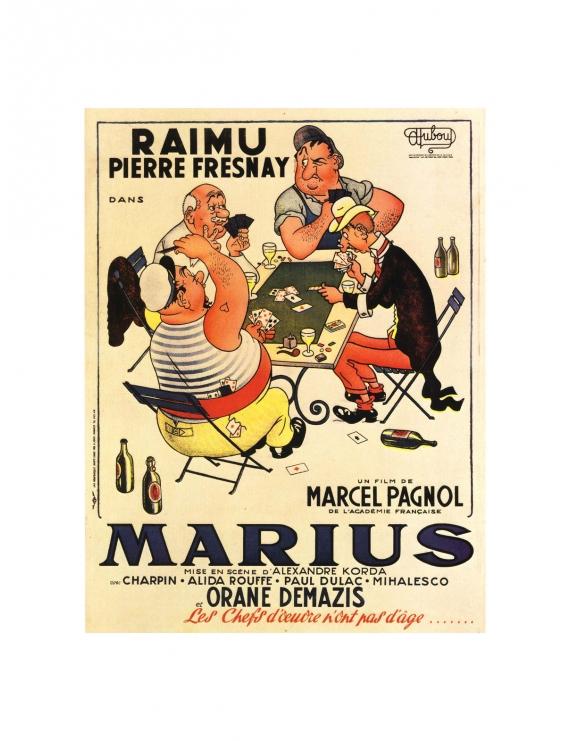 Affiche Film Marcel Pagnol