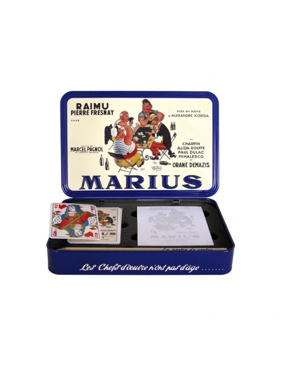 Coffret jeu de cartes Marius - Marcel Pagnol