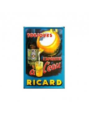 Plaque Ricard Métal - Déco
