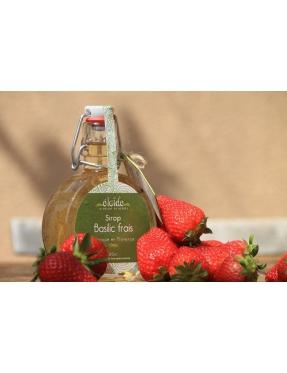Sirop Basilic frais