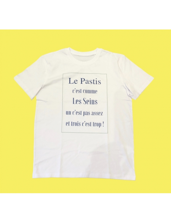 Tee-shirt coton bio La Pastisserie