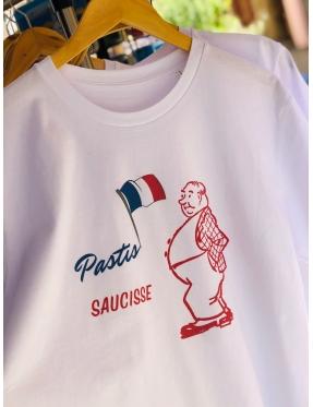 Tee-shirt Pastis Saucisse